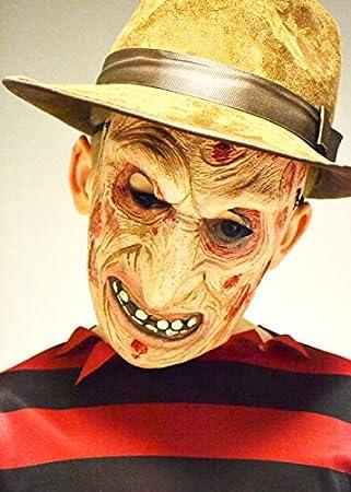 Magic Box Máscara de Halloween para Hombre Quemado Freddy Style para niños: Amazon.es: Juguetes y juegos