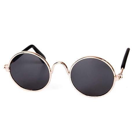 AOLVO - Gafas de Sol para Mascotas clásicas y Modernas, con ...