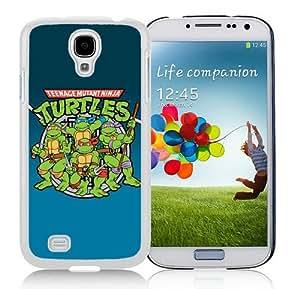 Custom Best Design Teenage Mutant Ninja Turtles White Samsung Galaxy S4 i9500 Case