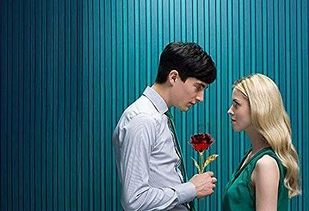 Rose Feuille dor 24K Fleurs artificielles Rose avec pr/ésentoir dans Une bo/îte Cadeau Cadeau pour la Saint-Valentin,f/ête des m/ères,Anniversaire,Mariage,No/ël,Thanksgiving