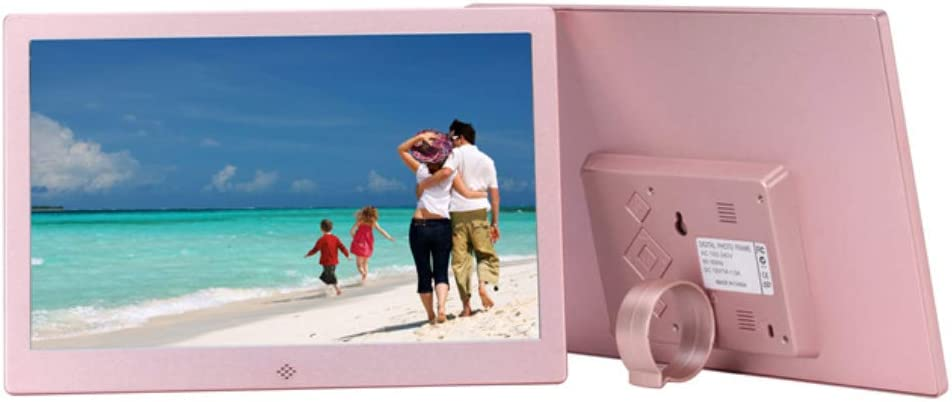 Playback Advertising Machine Support Sd Microsd Mmc Zhengpin Digital Picture Frames 10-Inch Metal Ultra-Thin Digital Photo Frame Gift Choice