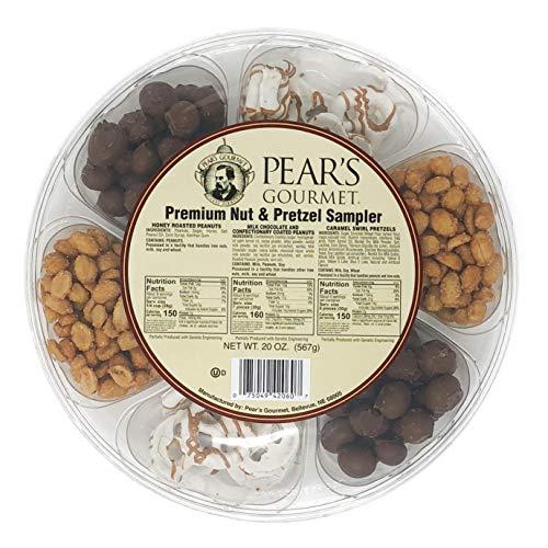 Pear's Gourmet Premium Nut & Pretzel Sampler