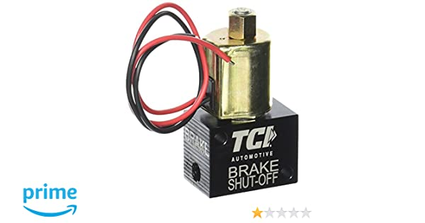 Amazoncom Tci 861200 Valve Electric Brake Shut Off Automotive
