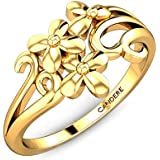 Candere By Kalyan Jewellers 22k (916) Yellow Gold Larrissa Ring