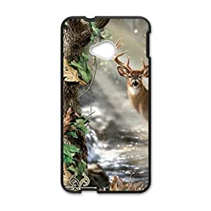Happy Realtree Deer Cell Phone Case for HTC One M7