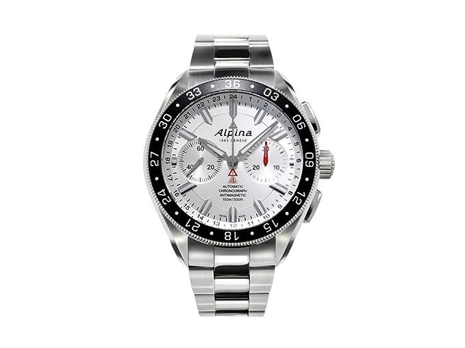 Alpina Alpiner - Reloj de pulsera automático con cronógrafo de 4 relojes, AL-860, AL-860S5AQ6B: Amazon.es: Relojes