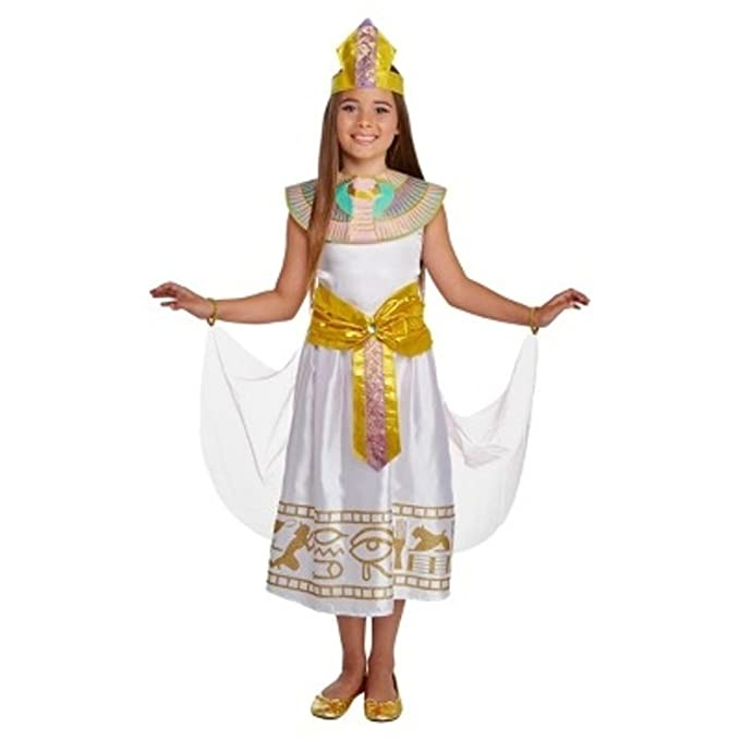 Onceuponasale Cleopatra Deluxe Costume Girls Large 10-12 Egyptian School Play Halloween Dress  sc 1 st  Amazon.com & Amazon.com: Onceuponasale Cleopatra Deluxe Costume Girls Large 10-12 ...