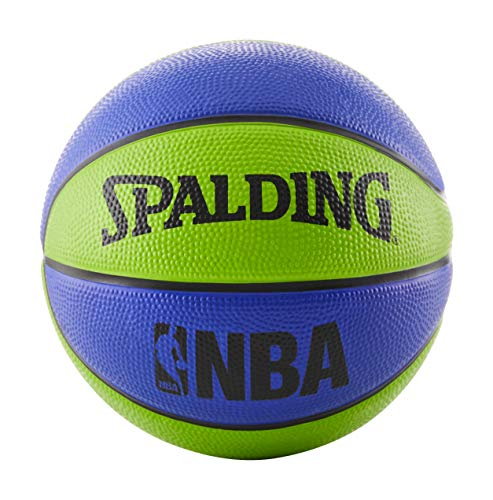 "Spalding NBA Mini Basketball 22"" - Blue/Green"