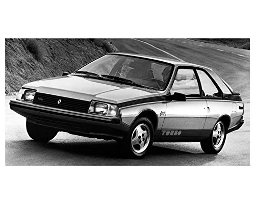 1983 Renault Fuego Turbo Automobile Photo Poster