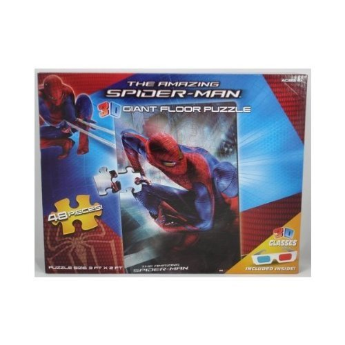 The Amazing Spider-Man 3D Giant Floor Puzzle 48 Pieces by Toy Island