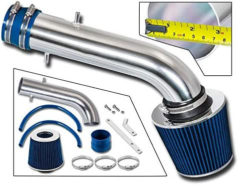 Filter Combo BLUE Compatible For 95-02 Honda Accord V6 /… Rtunes Racing Short Ram Air Intake Kit