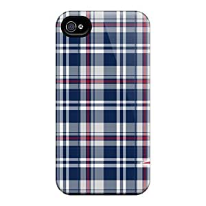 Anti-scratch And Shatterproof New England Patriots Phone Cases For Iphone 4/4s/ High Quality Tpu Cases