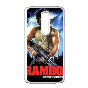 First Blood LG G2 Cell Phone Case White Phmql