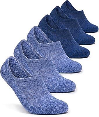 Tesla 6-Pairs Comfort Socks No-Show/Mid-Calf TM-MZS08/MZS04/MZS05/MZS06/MZS51/MZS54/MZS56