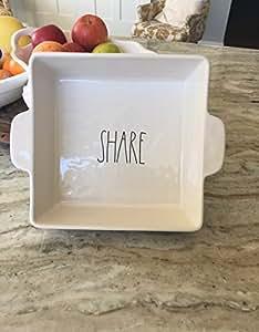 Amazon Com Rae Dunn Baking Dish Share Kitchen Amp Dining