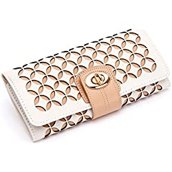 WOLF 301453 Chloe Jewelry Roll, One Size, Cream