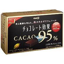 Meiji chocolate effect cacao 95% BOX 60gX5 boxes