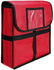 Senmubery Insulated Pizza Food Delivery Bag Professional Large Pizza Delivery Bag Moisture-Proof Pizza Box
