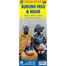 1. Burkina Faso & Niger Travel Ref. Map 1:1,000,000/1:1,950,000 by ITMB Canada (2013-06-17)