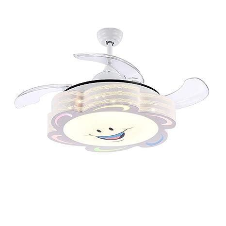 Yxx max *Araña de Luces Araña, Ventilador LED de Techo para niños ...