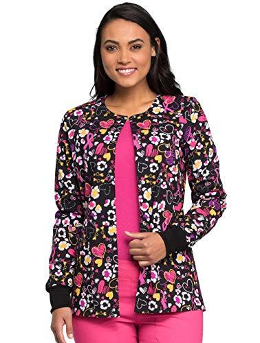 (Medical - Tops CK301 Women's Snap Front Warm-up Jacket)