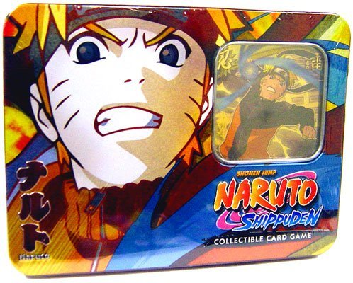 2009 Naruto CCG: Guardian of the Village Tin Collector Tin Set: Naruto Uzumaki - Great (2009 Collector Tin Set)