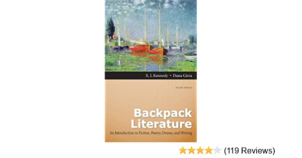 Backpack literature by x. J. Kennedy.