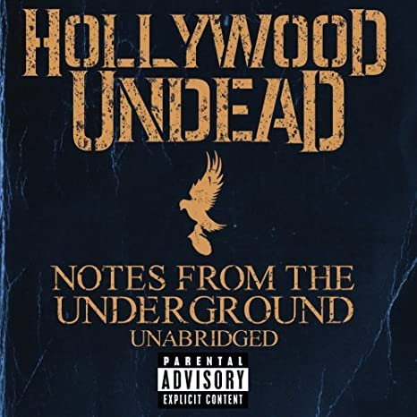 Hollywood undead dove and grenade notes from the underground swan.