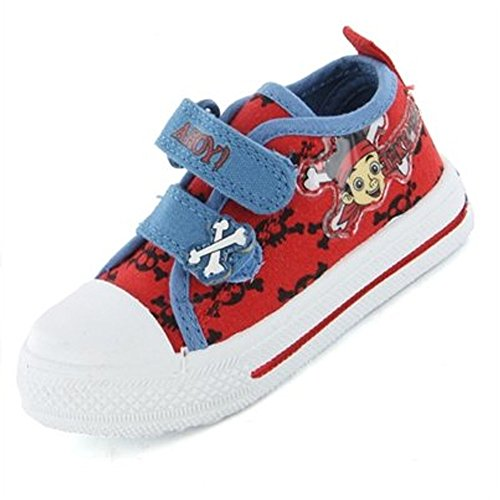 Jake and the Neverland Pirates Crossbone Canvas UK Size 6 (Jake And The Neverland Pirate Characters)