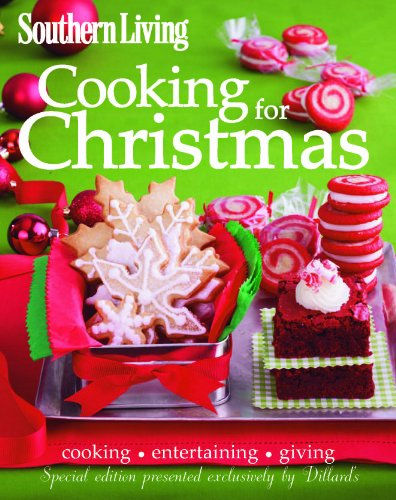 Southern Living Cooking for Christmas Cookbook (Hot Fudge Recipe)