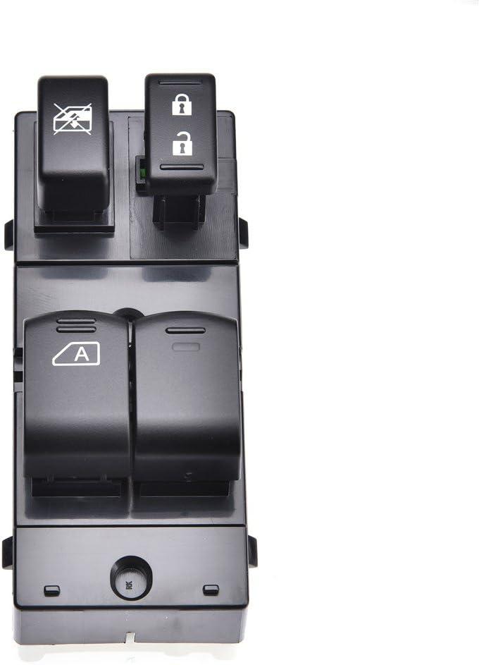 TOHUU 25401-ZP50A Front Left Driver Power Window Switch For Nissan Frontier 2 Door 2006-2016
