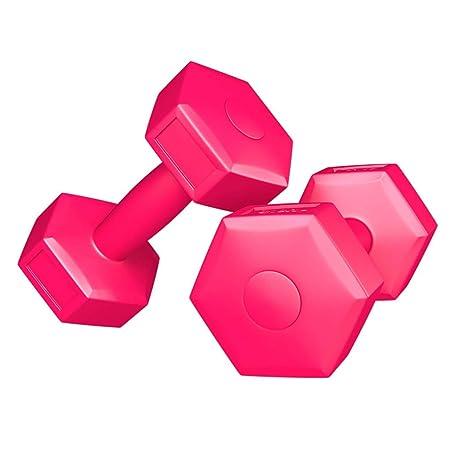 YUNPENG - Mancuernas hexagonales pequeñas para Mujer, Juego de ...