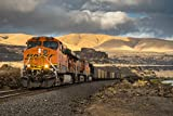 Train through the gorge - photo print on - Best Reviews Guide