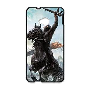 HTC One M7 Cell Phone Case Black_planet-of-apes-film-illust FY1382085