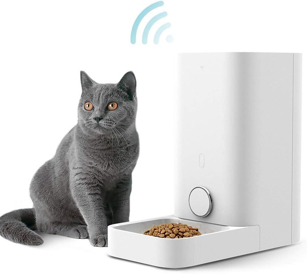 PETKIT Alimentador Inteligente para Perros y Gatos -Doble Fresco -Nunca Tarjeta -Gran Capacidad -Fácil de Limpiar (Mini 2,8 litros)