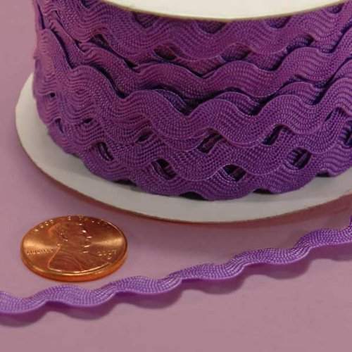 Purple Ric Rac Trim, 5mm X 22Yd Paper Mart BCACS16727