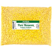 Stakich Pure YELLOW BEESWAX Pellets - 100% Natural, Cosmetic Grade, Premium Quality - (1 lb)