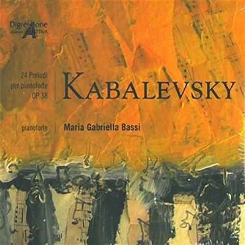 Kabalevsky - Bassi - 24 Preludi Per Pianoforte (CD)