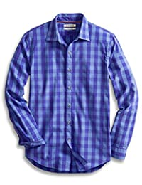 Goodthreads Men's Slim-Fit Long-Sleeve Large Check Shirt