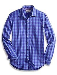 Goodthreads Men's Slim-Fit Long-Sleeve Large Check Shirt