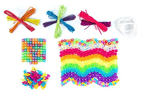 51kp0HeH1GL - Just My Style Personalized ABC Beads Kit, Primary