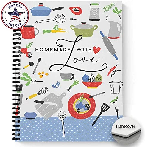 Hardcover Homemade Notebook Journal Laminated product image