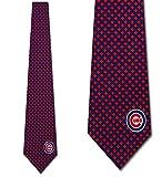 Chicago Cubs Ties Mens Diamante Necktie by Eagles Wings