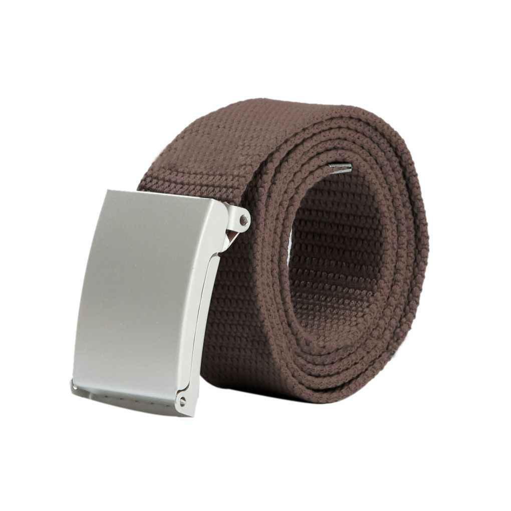 Bobury Cintura di Accessori per Fibbie in Tela