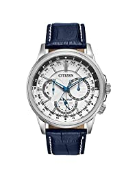 Citizen Men's Calendrier BU2020-02A Wrist Watches, White Dial