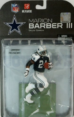 577d84586f1 Mcfarlane NFL Dallas Cowboys Marion Barber III Action Figure Series 24 by  Unknown
