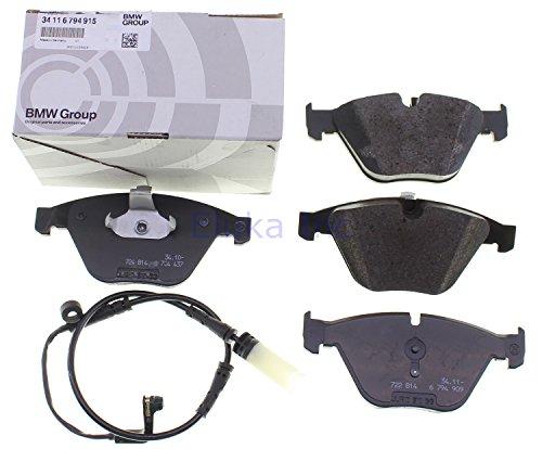 BMW Genuine Front Brake Pads Wear Sensors Set E60 E60N E61 E61N 525i 525xi 530xi 545i 550i 528xi 535i 535xi 550i 530xi 535xi