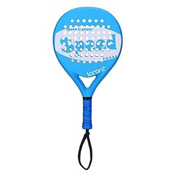 ianoni Tenis Padel Beach Raqueta Tennis Paddle con Fibra de Carbono en la Cara y EVA