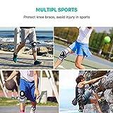 FREETOO Knee Compression Sleeve,Sports Knee Brace