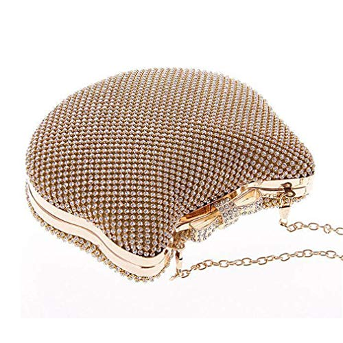 Bow ULKpiaoliang Crystal Bags Knot Diamond Purse Clutch gold Cat Head Glitter Gold Silver Evening Rhinestone rPznaZr